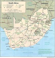 Pretoria South Africa Map by South Africa Map