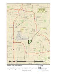 Map Of Las Vegas Nv A Paiute Canal In Sunset Park Clark County Nevada Lost In The