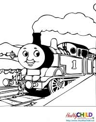 thomas train coloring pages healthychild 8097