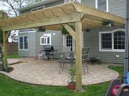 backyard covered patio plans how to design idea covered back