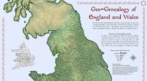 Map Of England And Wales Geo Genealogy Of England And Wales Tnris Texas Natural