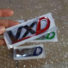 vauxhall vxd letras vxd tronco traseira do carro logotipo do emblema do emblema