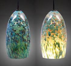 Glass Pendant Lights For Kitchen Lighting Blog Blown Glass Pendant Lights For Unique Kitchens