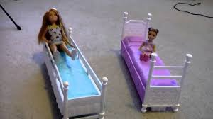 Barbie Beds Barbie And Her Sisters Bunk Bed Set Youtube