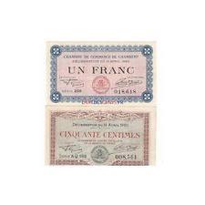 chambre de commerce de chambery billets in coins ebay