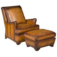 Armchairs And Ottomans Leather Chair U0026 Ottoman Northgate Gallery Antiques