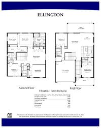Ellington Floor Plan Barrington Cove Naples Florida Real Estate