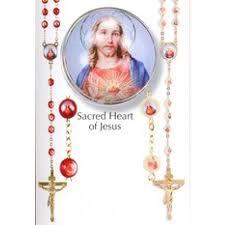 sacred heart rosary sacred heart of jesus devotional rosary or luminous