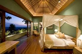 The Longhouse Holiday Villa In Bali With Exquisite Panoramic Views - Bali bedroom design
