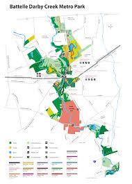 Columbus Ohio Map by The Columbus Metro Parks System All Columbus Ohio Data