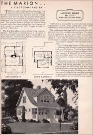 model homes floor plans marion sears kit house model 1333 1936 marion honor bilt modern