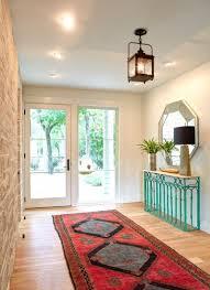 furnitures minimalist entryway with minimalist black white