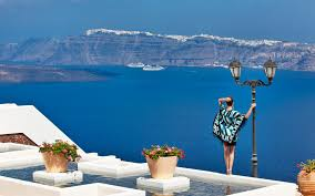 Santorini Greece Map by Santorini Map Beaches Sightseeing Attractions