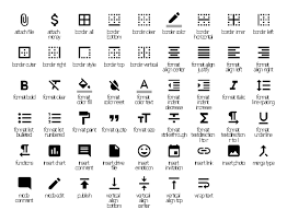 android center text design elements android system icons editor
