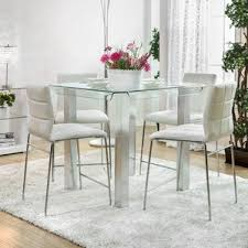 How Tall Are Kitchen Tables by Glass Kitchen U0026 Dining Tables You U0027ll Love Wayfair