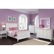 Ashley White Twin Bedroom Set Kaslyn One Drawer Night Stand B502 91 Signature Design By Ashley