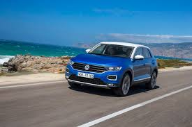 blue volkswagen volkswagen t roc review gtspirit