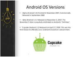android os releases android os presentation