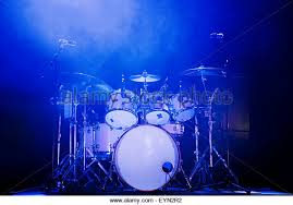 Drum Set Lights Drums Stage Stock Photos U0026 Drums Stage Stock Images Alamy