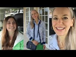 preppy for women over 50 classic fashion over 40 over 50 vlog my niece visits stop by