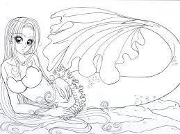 nice mermaid coloring pages printable 39 5178