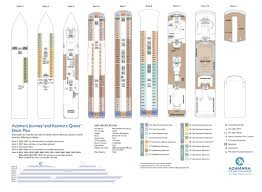 azamara deck plans journey deck design and ideas