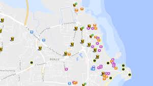 bali indonesia map maps of bali kuta legian nusa dua seminyak ubud jimbaran