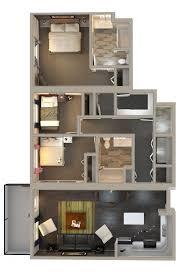 3 Bedroom Condo Floor Plan by Kensington Flats U2013 Innovative Residential