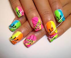colorful nail art ideas fashion u0026 trend