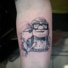 13 pixar inspired tattoo ideas tattoo tatoo and miyazaki tattoo