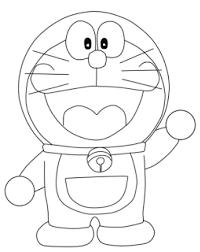 tutorial gambar kepala doraemon cara mudah menggambar kartun doraemon dengan pensil langkah demi