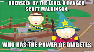 Southpark Meme - south park meme power of diabetes on bingememe