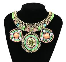 beaded collar necklace jewelry images 2018 handmade embroidery bead necklace ethnic pattern beadwork big jpg