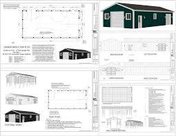 plans smalltowndjs pole barn designs sc building 25 x 40