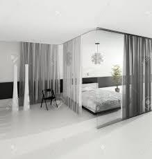 chambre couleur grise design d intérieur chambre moderne de couleur grise banque d images