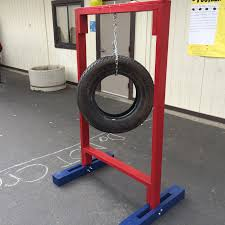 carnival game football tire toss carnival games