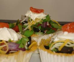 Halloween Appetizer Homemade Corn Taco Bowls Appetizers 7 Steps With Pictures