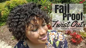 Protective Styles For Short Transitioning Hair - fail proof twist out tutorial 4c transitioning hair