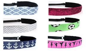 non slip headbands adjustable non slip headbands holidays and sports practice