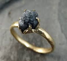 the 25 best raw gemstone ring ideas on pinterest stone rings