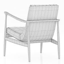 3d essential home hudson armchair cgtrader