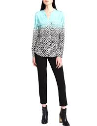 ombre blouse calvin klein abstract ombre blouse stage stores