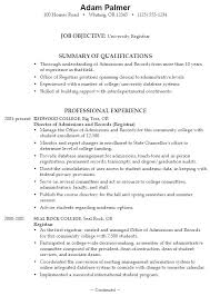resume exle for college student great resume exles for college students