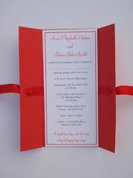 gatefold wedding invitations polka dot gatefold wedding invitation vintage wedding