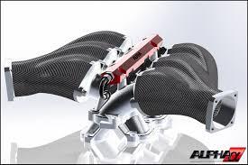 nissan 370z intake manifold ams alpha performance engineering update carbon fiber intake