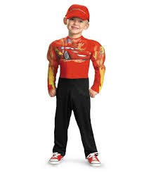 disney halloween costumes for toddlers lightning mcqueen muscle kids disney halloween costume