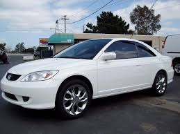 honda civic 2004 coupe 2004 white honda civic ex car picture honda car pictures