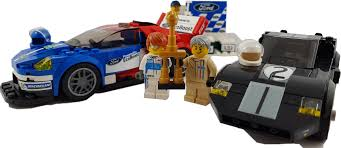 lego ford lego speed champions 2016 ford gt and 1966 ford gt40 75881