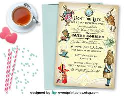 alice in wonderland party invitations theruntime com