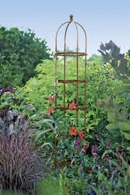 pea trellis tall and expandable steel trellis gardener u0027s supply